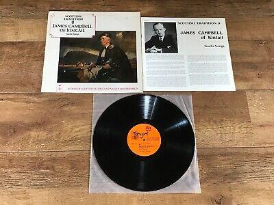 "JAMES CAMPBELL OF KINTAIL - GAELIC SONGS : NEAR MINT UK 12"" VINYL LP TNGM 140"