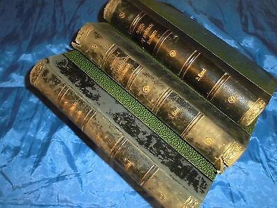 Antik Buch 1910 / 1911 , Der praktische Kaufmann , Band 1 - 3 , Literatur Verlag