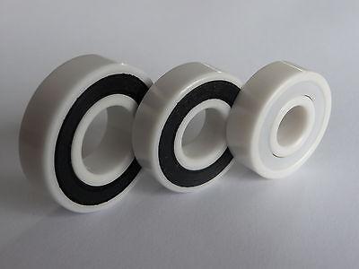 ** 1x Kugellager 608-2RS/Full-Ceramic, ZRO2-Zirkonoxid, .... 8x22x7 mm ....*NEU*