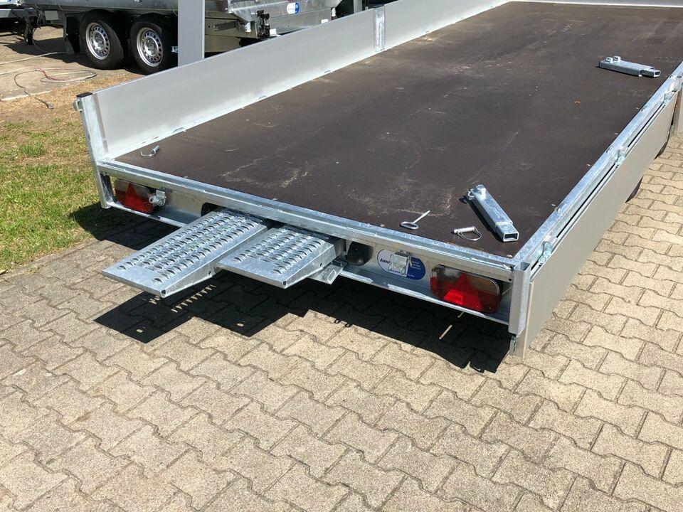 ⭐️ Eduard Auto Transporter 3500kg 506x200x30cm Rampen Winde 63 in Schöneiche bei Berlin