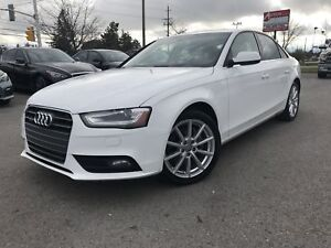 2014 AUDI A4 QUATTRO-PROGRESSIV-NAVI-NO ACCIDENTS-ONE OWNER-