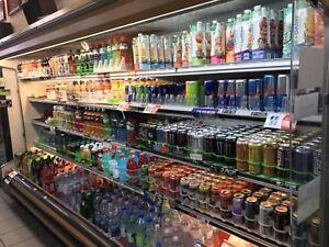 Réfrigérateur commercial ouvert 12pi