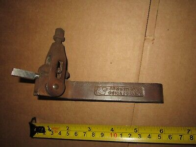 Armstrong No 15 Reversible Left Right Boring Bar Tool Holder South Bend Atlas
