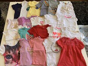 Size 1 girls short sleeve t-shirt bundle Tarrawanna Wollongong Area Preview