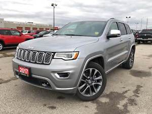 2017 Jeep Grand Cherokee OVERLAND**LEATHER**SUNROOF**AIR SUSPENS