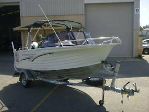 ** 475 QUINTREX Bayhunter Caprice 16.1 ft 60HP HONDA ** 104HOURS!! Rockingham Rockingham Area Preview
