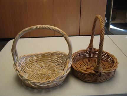 Small wicker baskets perfect for easter gifts decorative cane wicker baskets negle Choice Image