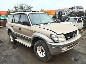 Wrecking 1999 Toyota Prado VZJ95R Manual 4WD Port Adelaide Port Adelaide Area Preview