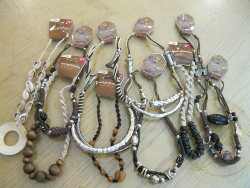 """""""NEXT GENERATION"""" NECKLACES-WHOLESALE JEWELRY LOT ** 12 PCS. **FREE SHIPPING**"""
