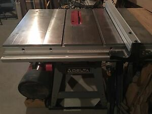 Delta table saw - Banc de scie - full kit complet