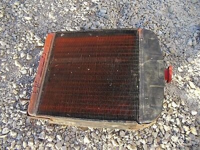 Allis Chalmers B Tractor Original Ac Good Working Radiator Assembly W Shroud