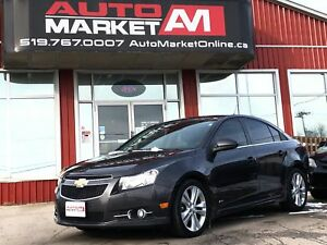 2014 Chevrolet Cruze 2LT, Leather, Sunroof, WE APPROVE ALL CREDI