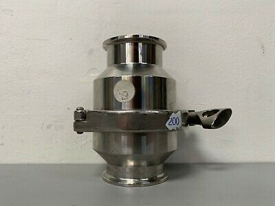Stainless Steel Check Valve W 2.5 Od Sanitary Fittings