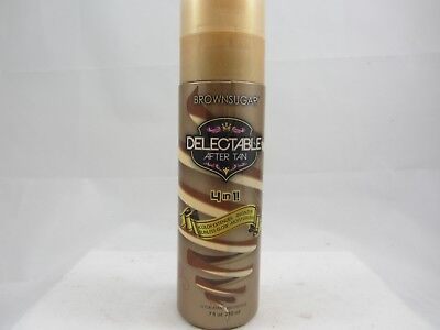 DELECTABLE 4 IN 1 AFTER TANNING TAN EXTENDER MOISTURIZER -