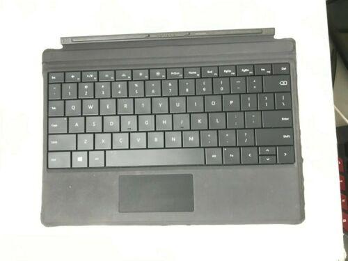 "GENUINE Microsoft Surface 3 10.8"" BACKLIT US Keyboard Cover Black Fair"