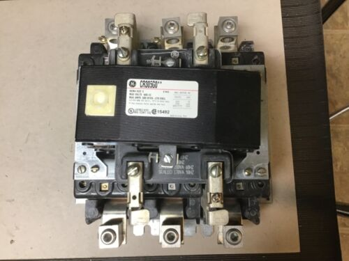 General Electric GE CR305G0**Size 5 Motor Starter With 120 Volt Coil