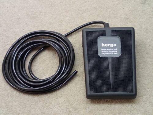 Herga 6210-0001 Air Foot Switch Pedal Nice
