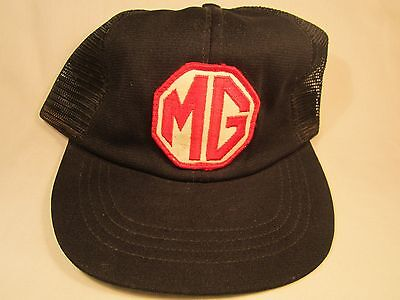 VINTAGE HAT Mens Cap MG (Motor Company) [Z5o]](Mg Hats)