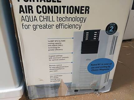 PORTABLE REFRIGERATED AIR CONDS AS NEW WITH 30 DAY WTY FROM $250