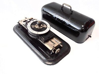 ANTIQUE rare typewriter ViROTYP Macchina da scrivere TYPEWRITER circa 1914