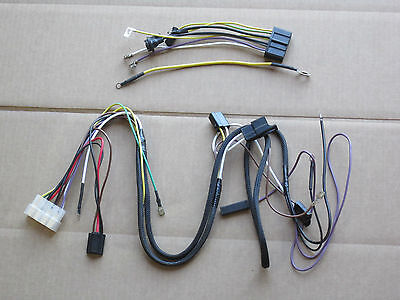 Main And Dash Wiring Harnesses For Ih International 154 Cub Lo-boy 185