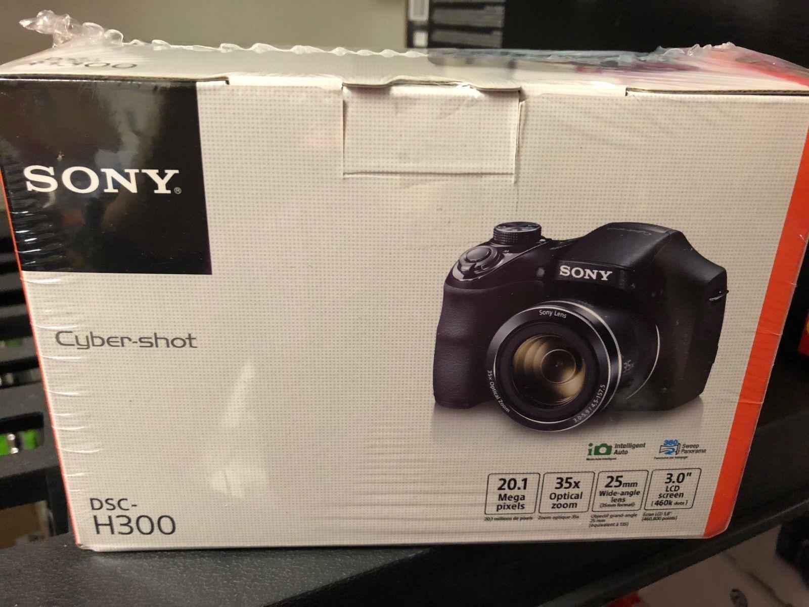 OB Sony Cyber-shot DSC-H300 20.1MP Digital Camera - Black