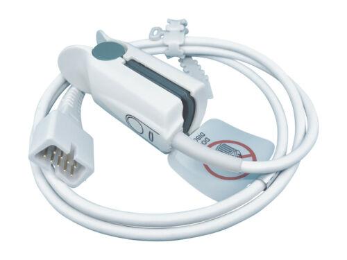 BCI SPO2 Adult Finger Sensor 9-Pin to DB9 for Pulse Oximetry Oximeter Monitor 3