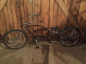 Low rider pedal bike