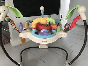 Baby car seat, jumper, rocker and more items