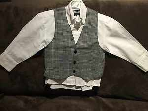 Toddler shirt and vest