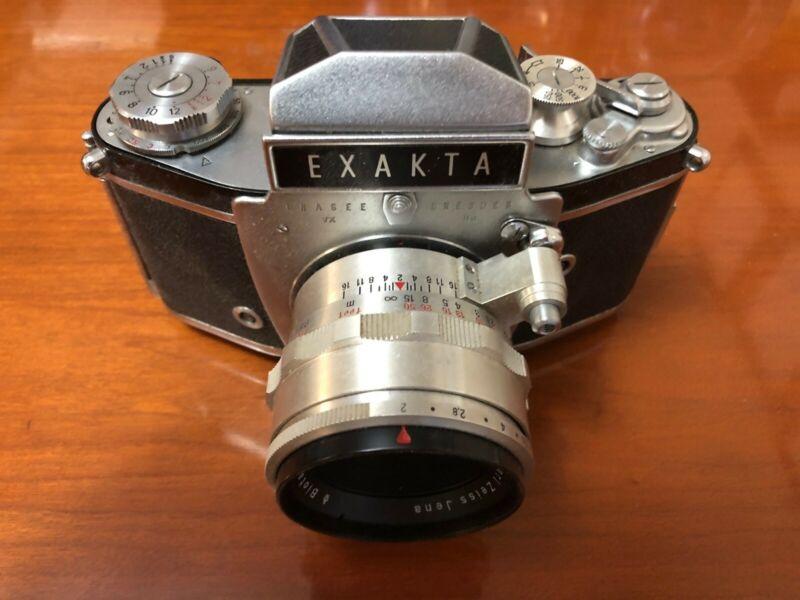 IHAGEE EXAKTA VAREX VX IIa camera#901134 lens CARL ZEISS JENA BIOTAR 58mm f/2