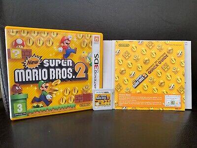** New Super Mario Bros. 2 - Nintendo 3DS ** UK PAL