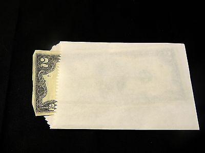 150 White Mini Kraft 3x5 Inch Kraft Bags Cute Goodie Paper Flat Favor Gift Bags