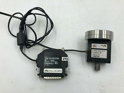 Instron S5375a With Interface Ulc-1n Force Transducer