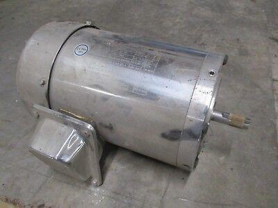 Gator Stainless Steel Ac Motor Csstr18-056-34 .75hp 1800rpm 208-230460v Used