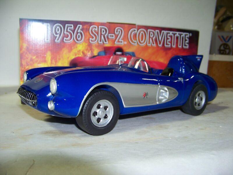 IAJBBSC Racing Proto-Type Blue 1956 SR-2 Corvette Decanter New In Box GM License