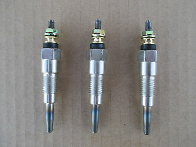 3 Glow Plugs For Allis Chalmers Deutz Massey Ferguson 3284128m1 72100982