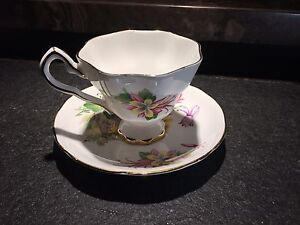 Royal Stafford Aquilegia bone china made in England