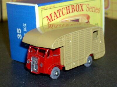 Matchbox Moko Lesney ERF Marshall Horse Box 35 a2 18GPW D-R SC4 VNM crafted box