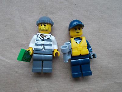 Rucksack neu NEW LEGO Bau- & Konstruktionsspielzeug LEGO City Minifig Figürchen CTY522 Crook Bandit Crook Man