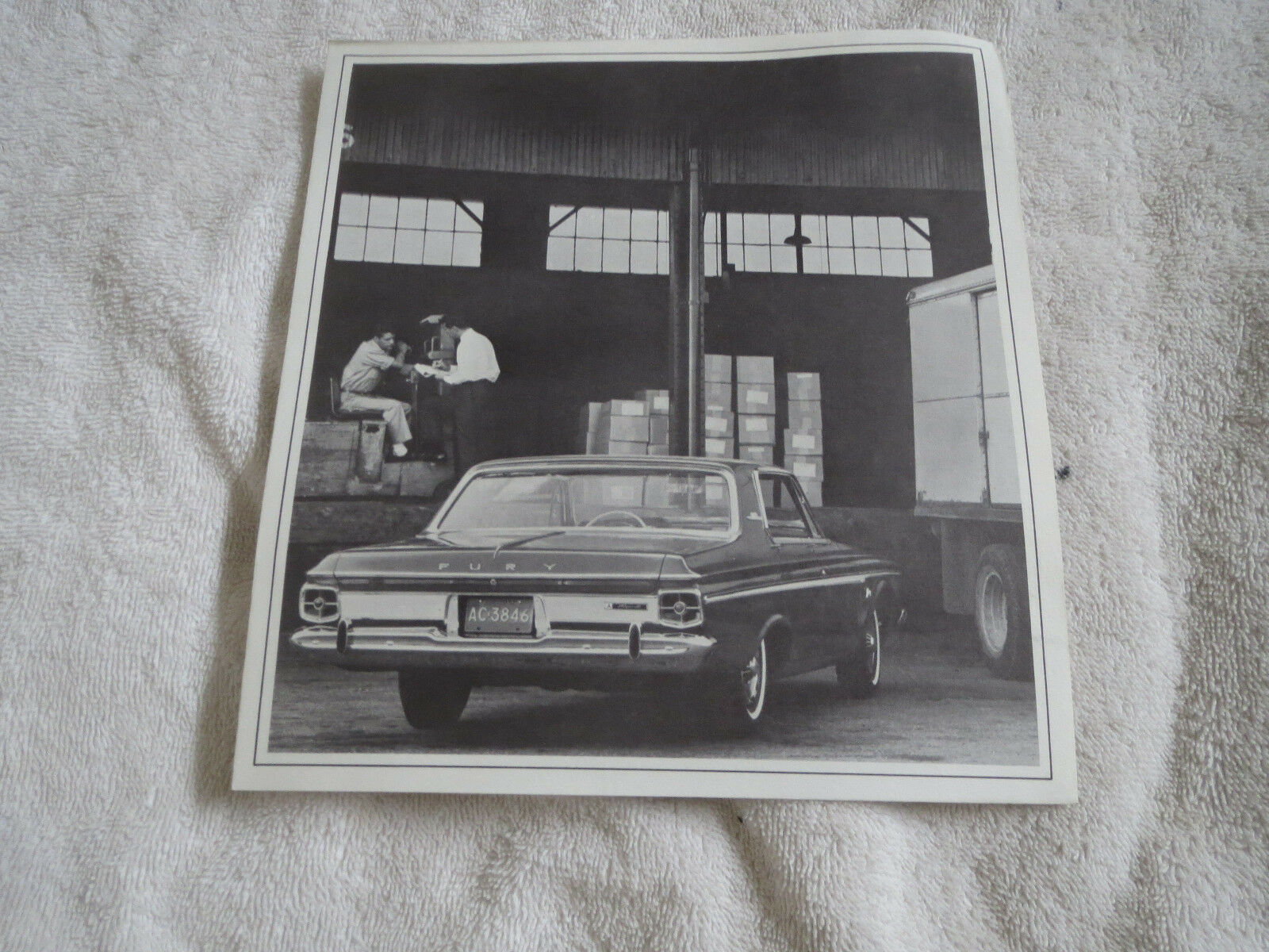 1963 PLYMOUTH FURY FLEET CAR FOR BUSINESS ORIGINAL DEALERSHIP SALES BROCHURE