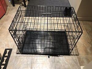 Cage pour chien, en excellent état