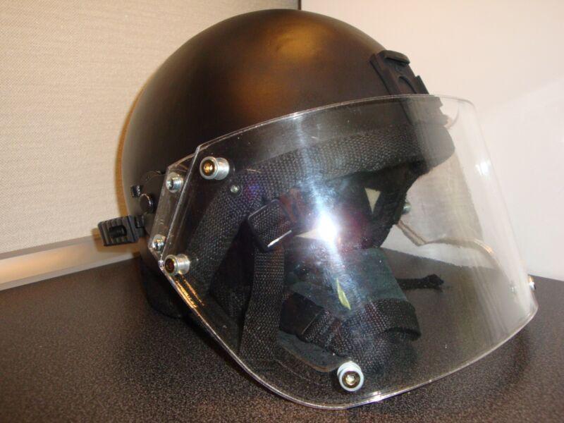 Russian LShZ-2DTM Volcano assault helmet with visor for FSB troops (replica)