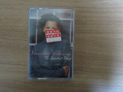 Vanessa Williams - The Sweetest Days Korea Edition Sealed Cassette Tape