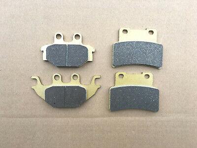 SEMI SINTERED GOLD FRONT  REAR BRAKE DISC PADS FOR <em>YAMAHA</em> MT125 MT 12