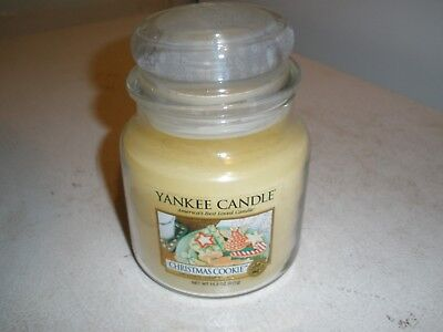 NEW Yankee Candle Christmas Cookie Jar 14.5 Oz