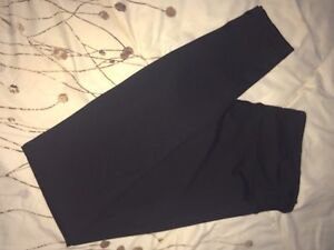 Size 10 Black Lululemon leggings