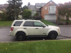 2008 Ford escape XLT 4WD Etested