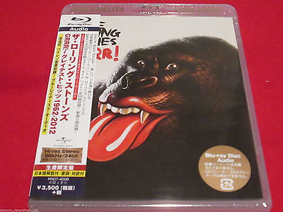 THE ROLLING STONES - GRRR! - JAPAN Blu-Ray Hi-Def Pure Audio Disc 4988005829924 - Hi Def Audio
