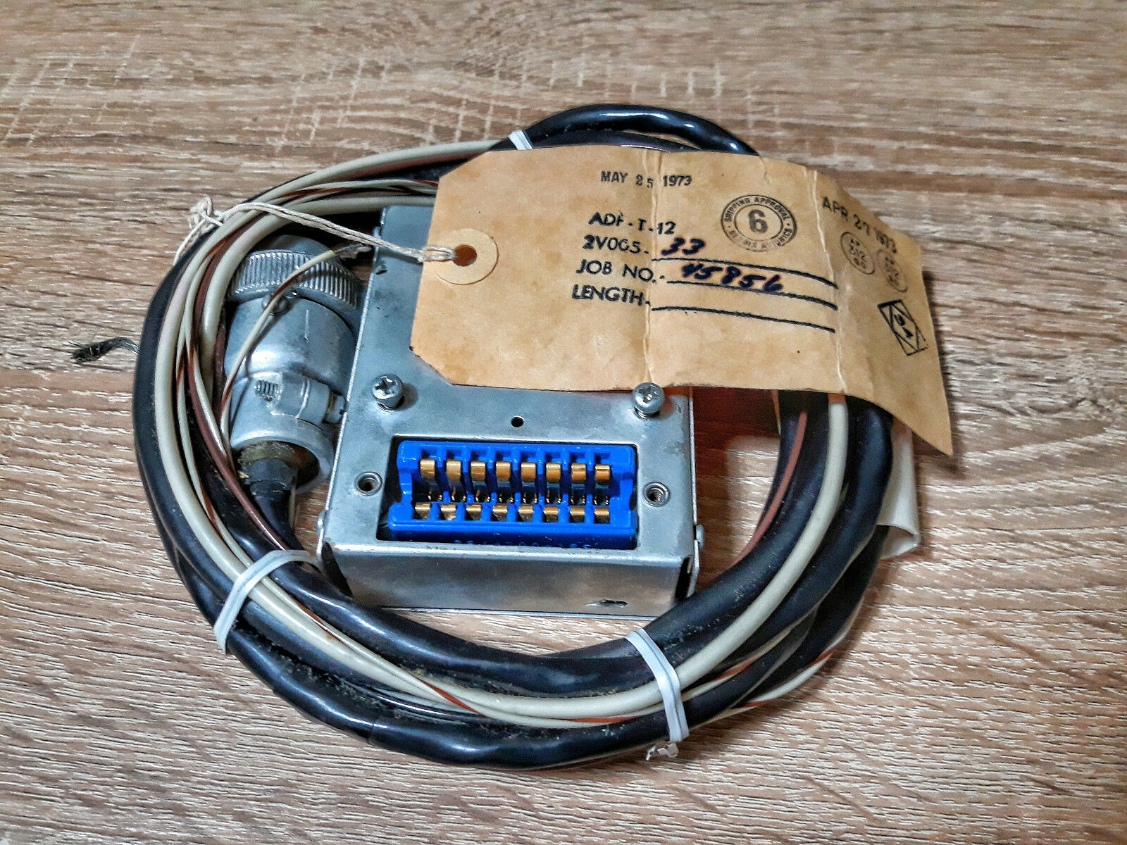 BENDIX ADF-T-12  HARNESS- wiring  (NEW OLD STOCK)